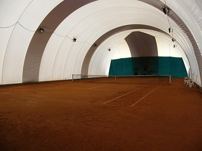 Sportcentrum-nafukovací hala