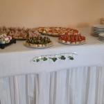 Svatební snídaňový raut